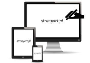 logo stronyart, strony internetowe oferta